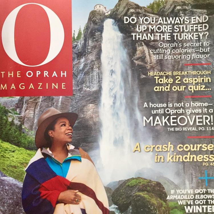 Oprah Magazine Nov. 2017